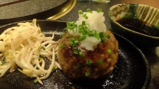 Salisbury steak lunch, Syotaian (Funabashi)