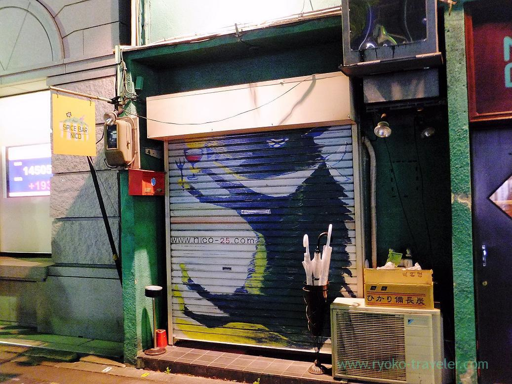 Appearance, Spice bar NICO (Kiyosumi-shirakawa)