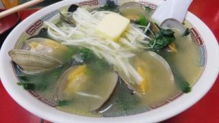 Tsukiji Market : Limited asari clam ramen at Yajima (やじ満)