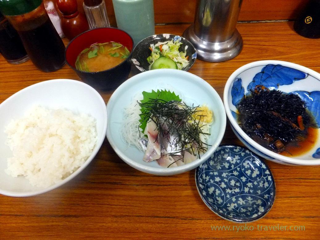 B set, Yachiyo (Tsukiji Market)