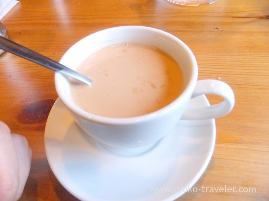 Chai, Handi restaurant (Atago)