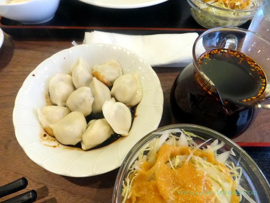 Chinese dumplings, Manzan (Makuhari-Hongo)