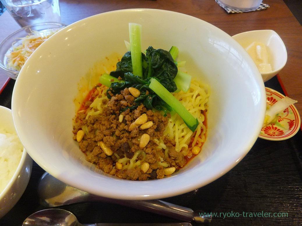 Dandan noodles, Manzan (Makuhari-Hongo)