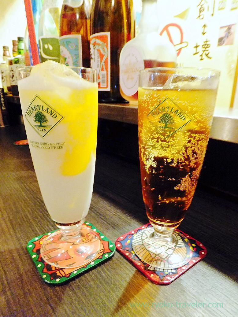 First drinks, Spice bar NICO (Kiyosumi-shirakawa)
