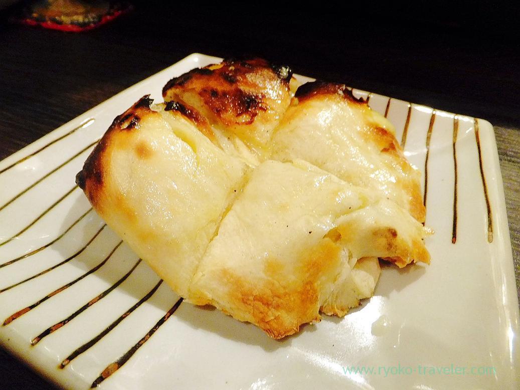Gorgonzora cheese kulcha, Spice bar NICO (Kiyosumi-shirakawa)