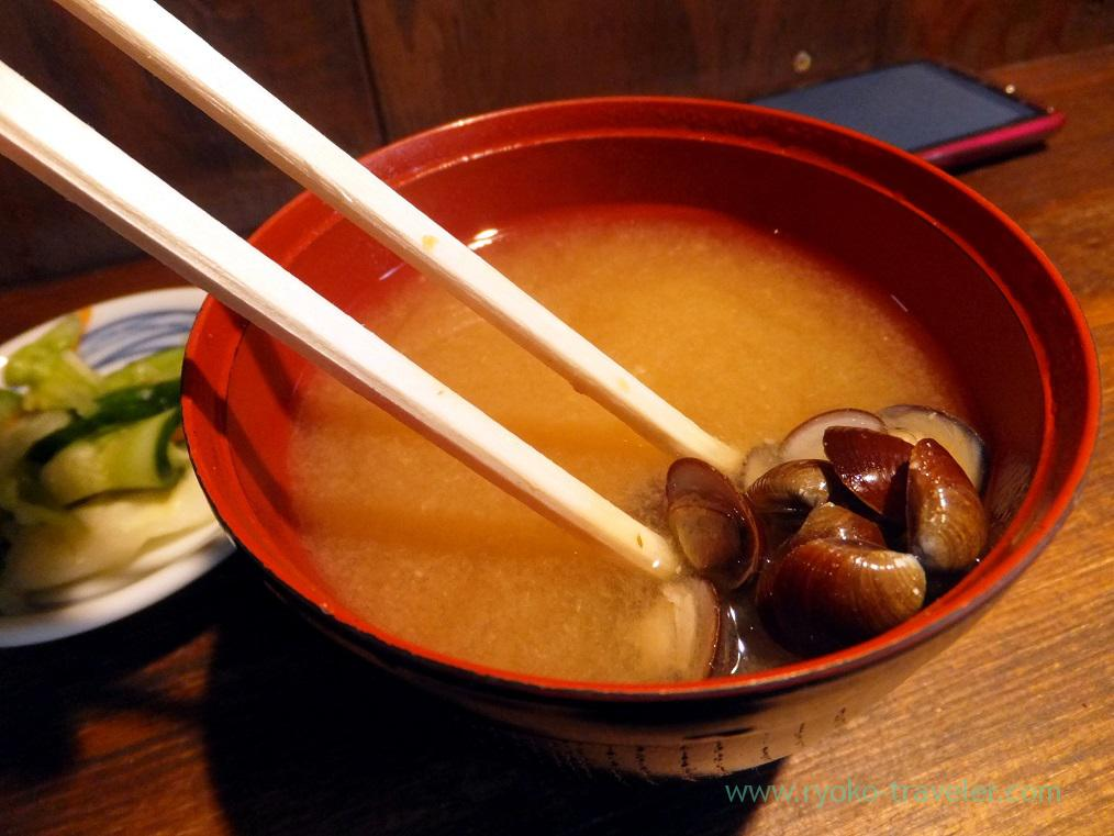 Miso soup, Hajime sengyo-ten (Tsukiji)