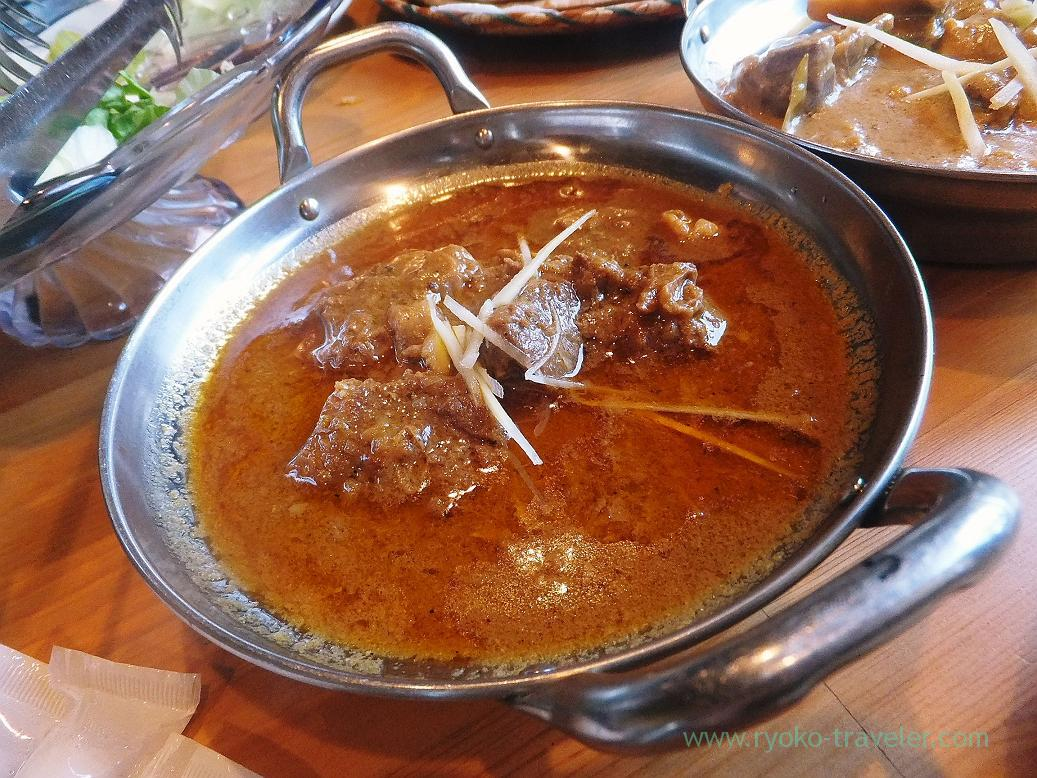 Mutton konna, Handi restaurant (Atago)