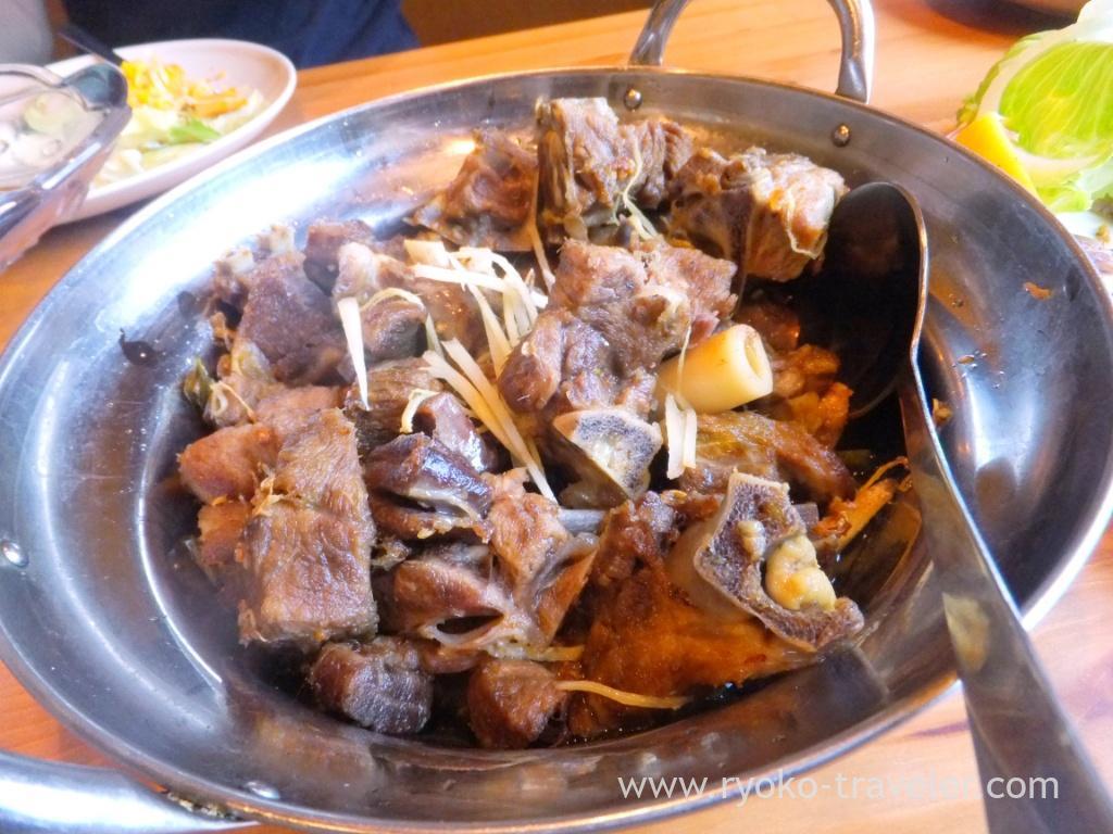 Nam keema kadi, Handi restaurant (Atago)