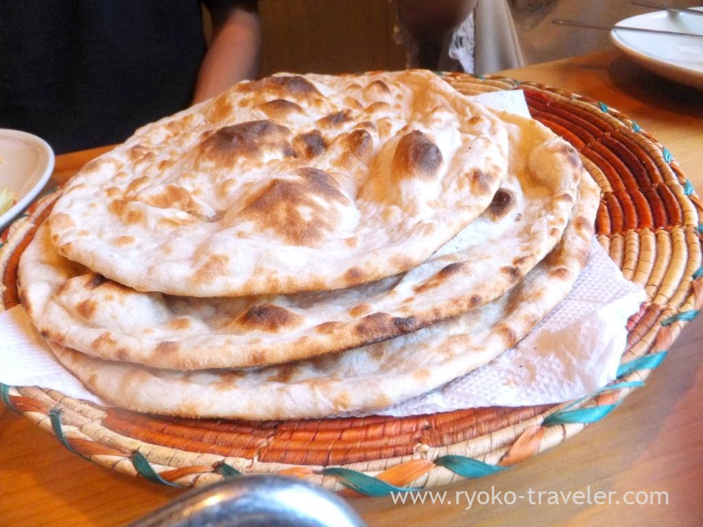 Roti, Handi restaurant (Atago)