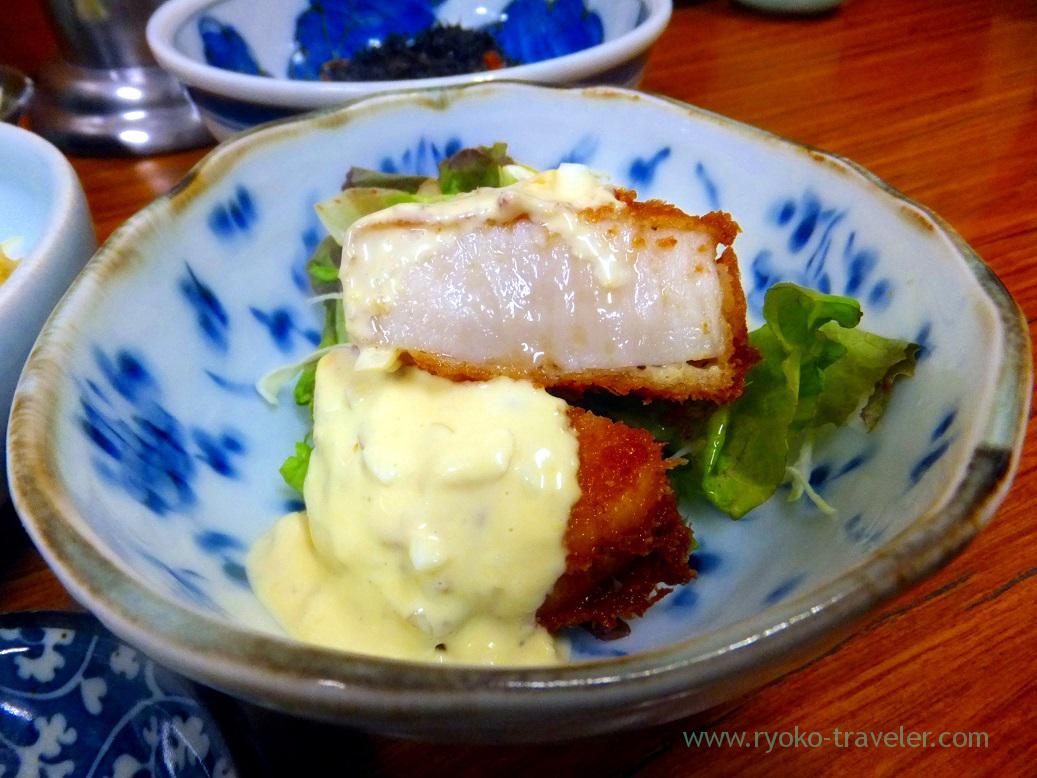 Scallop fry, Yachiyo (Tsukiji Market)