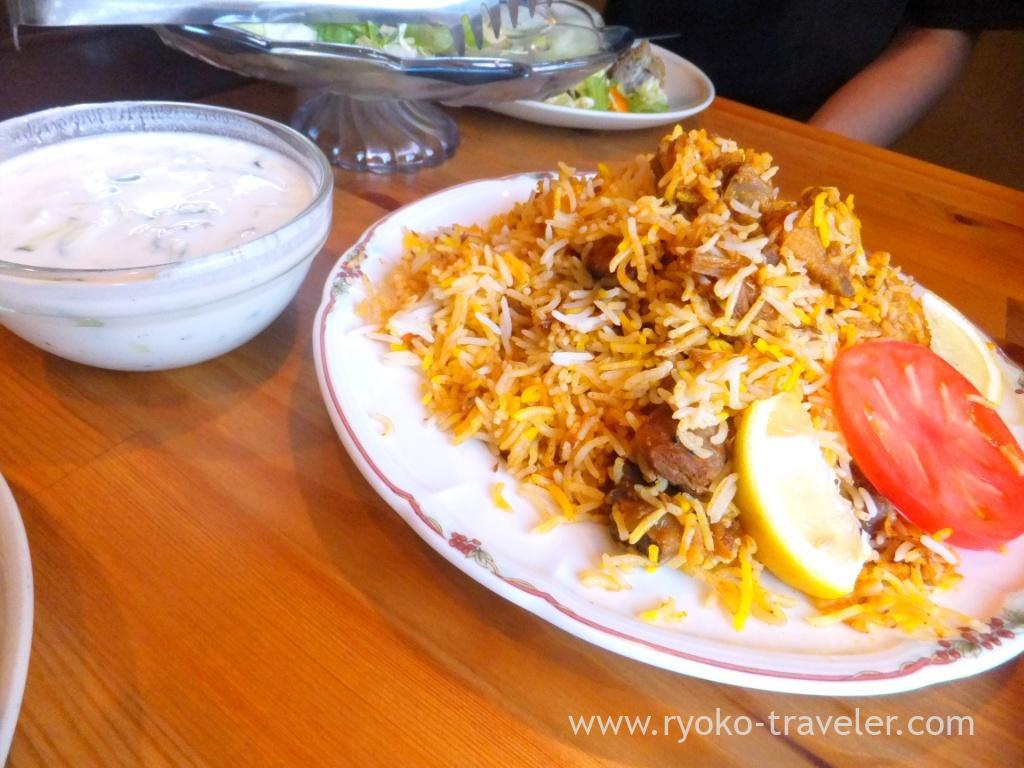 Sindi biryani, Handi restaurant (Atago)