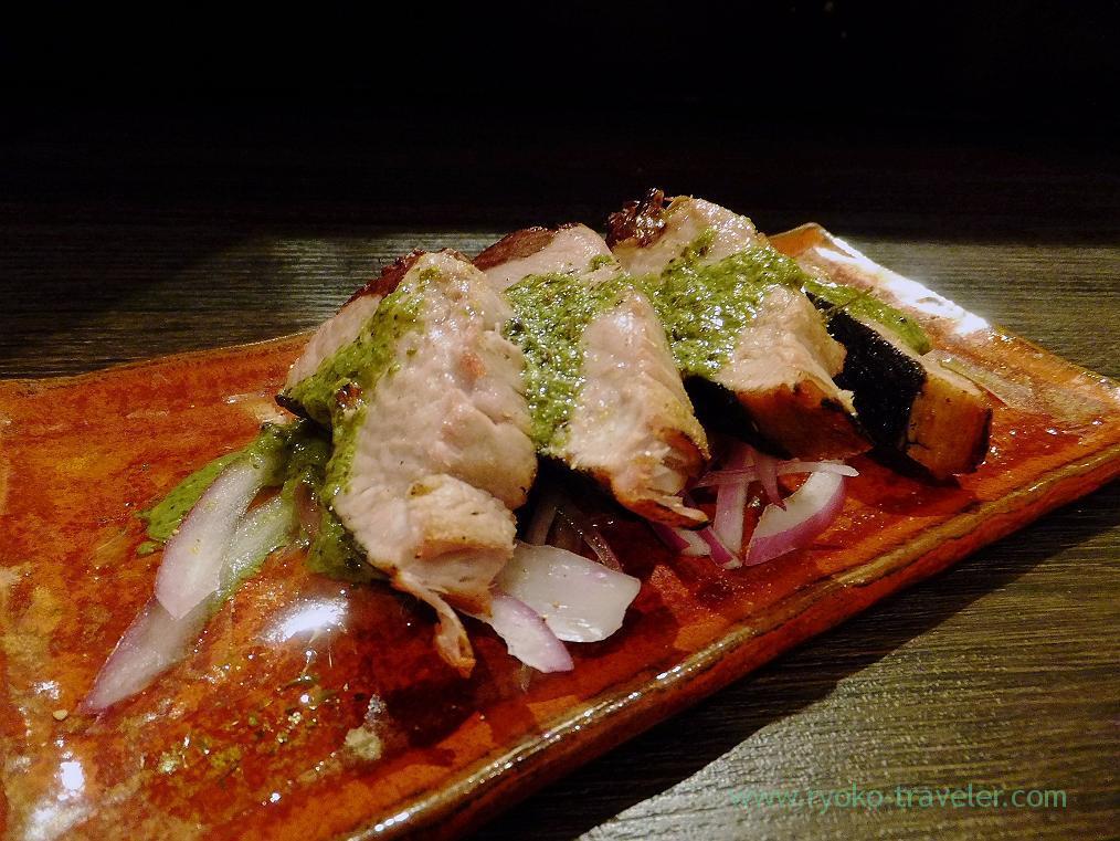 Tandoori bonito tataki, Spice Bar NICO (Kiyosumi-shirakawa)