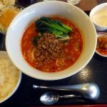 Makuhari-Hongo : Dandan noodles and tantanmen at Manzan