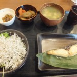 This may be the last lunchtime at Ikenoya for me… (Kachidoki)