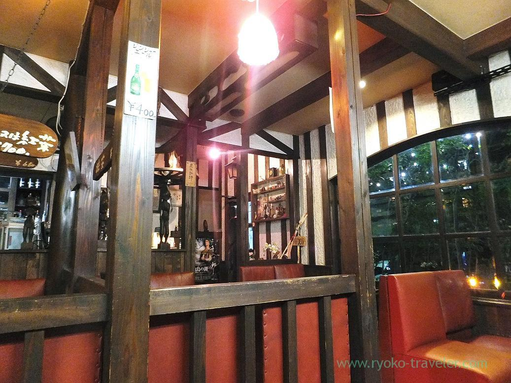 Interior, Coffee shop Karasu (Tsudanuma)