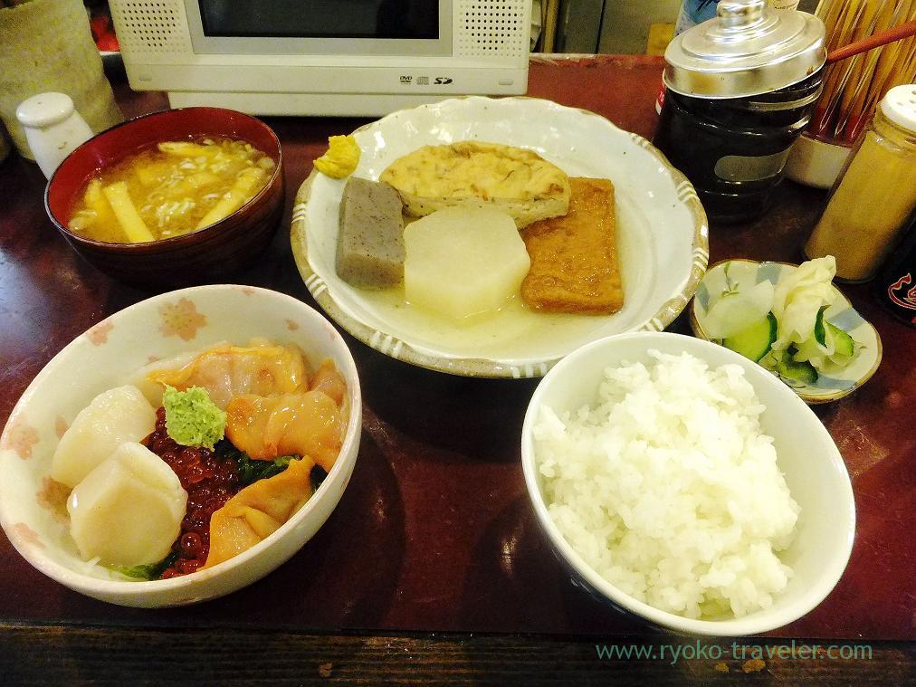Chefs choice, Yonehana (Tsukiji Market)