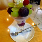 Asakusa : Autumn fruits parfaits at Fruits Parlor GOTO (フルーツパーラー ゴトー)