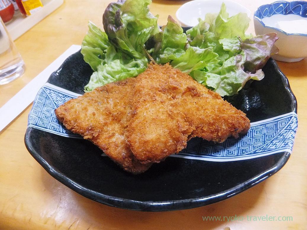 Horse mackerel fry, Sake-dokoro Nakamura (Kachidoki)