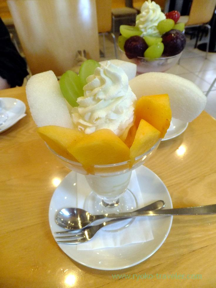 Permission and pear parfait, Fruits Parlor GOTO (Asakusa)