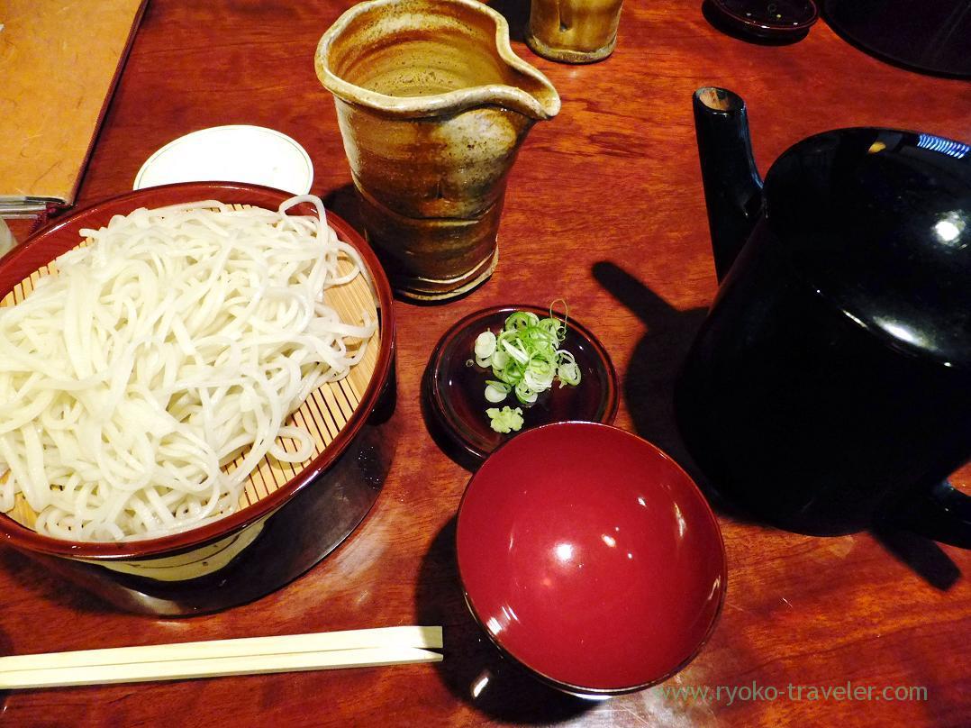 Soba set, Teuchi Hyakugei OBUSE (Obuse)