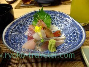 Assorted sashimi, Kazumiya (Yushima)