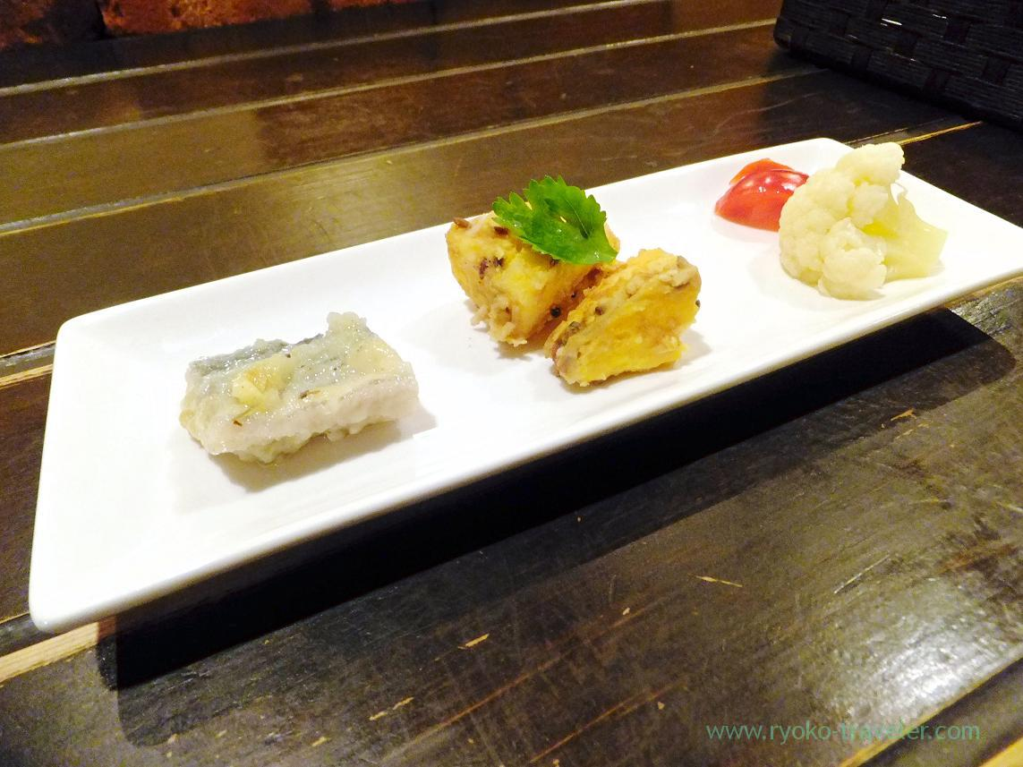 Appetizer, Curry-no-Akimbo (Kinshicho)