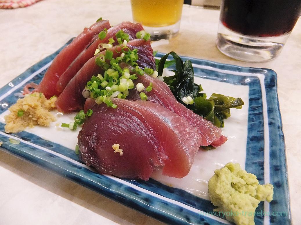 Bonito sashimi, Ippei (Funabashi)