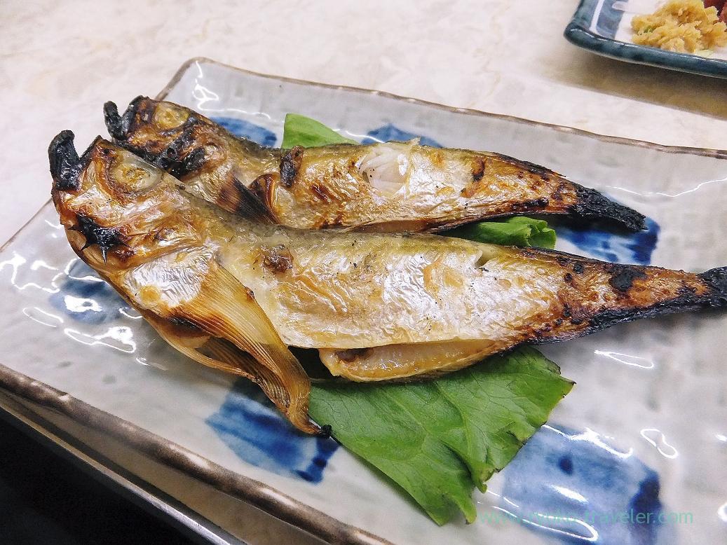 Grilled sailfin sandfish, Ippei (Funabashi)