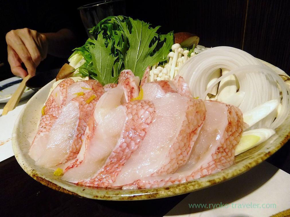 Kichiji rockfish hotpot, Fujimura (Tsukiji)
