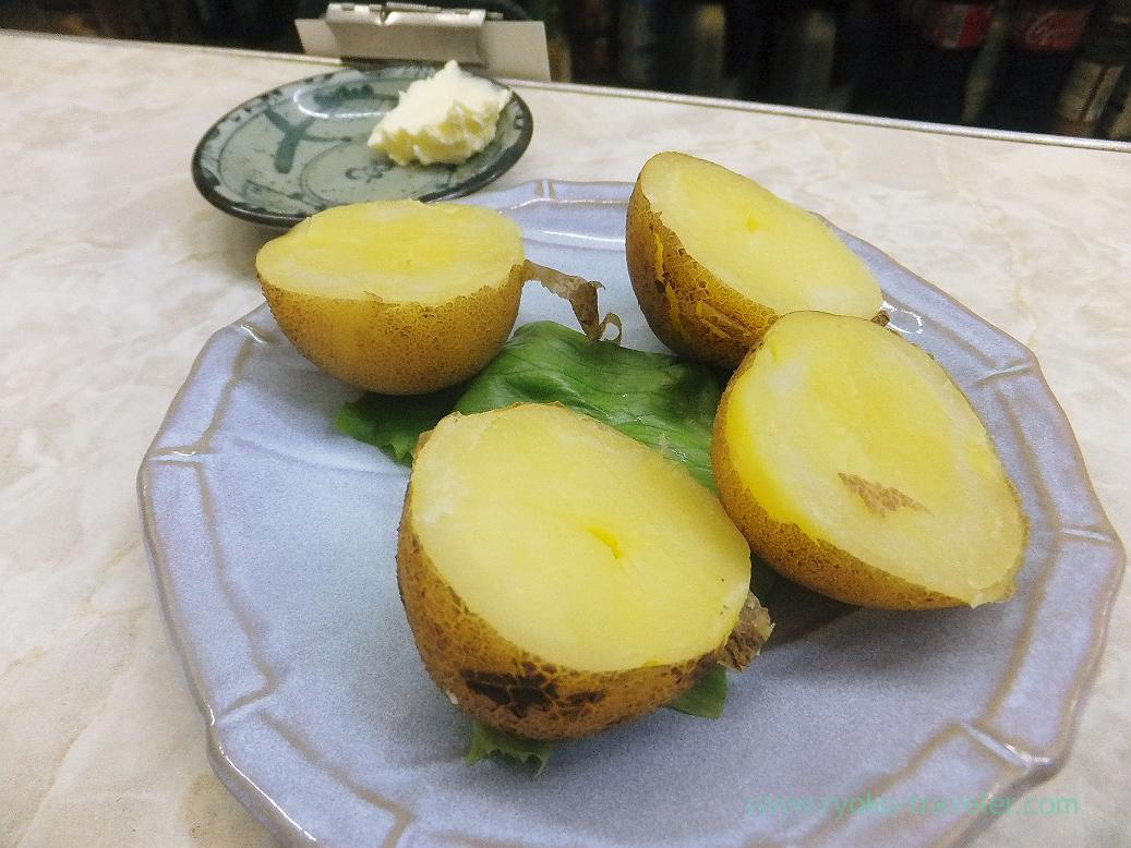 Potato with butter, Ippei (Funabashi)