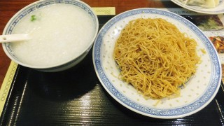 Yotsuya-Sanchome : Noodles dressed with oyster sauce at Kahin