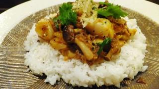(Closed) Kinshicho : Scallop curry at Akimbo (カレーのアキンボ)