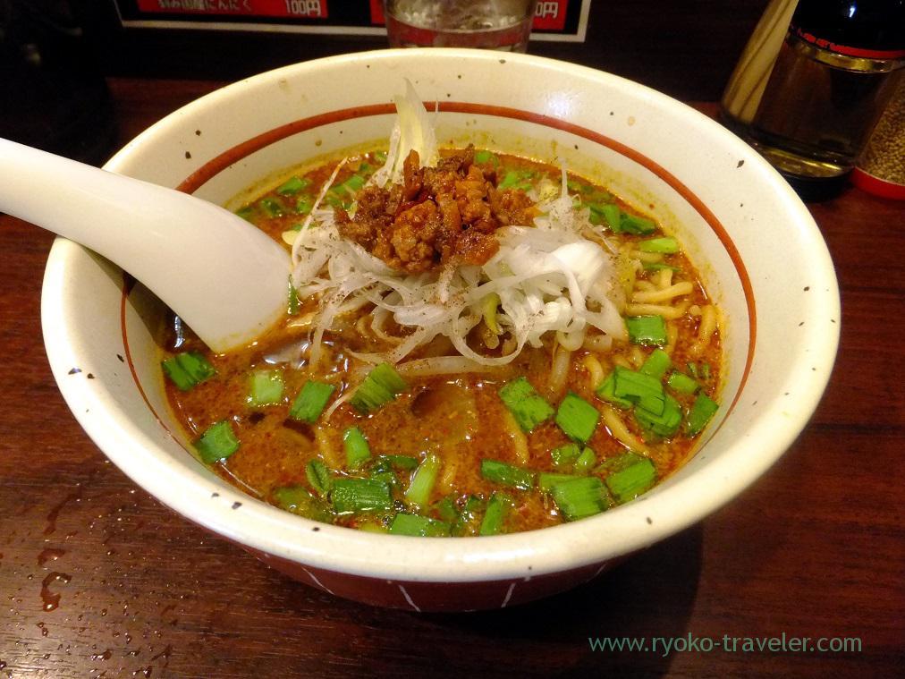 Spicy sesami ramen, Asyura (Funabashi)
