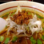 Funabashi : Extremely spicy sesami ramen at Asyura (拉麵 阿修羅)