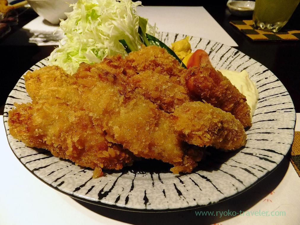 Vienna sausage fry and oyster fry, Fujimura (Tsukiji)