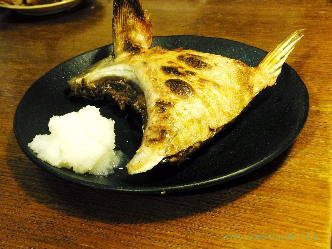 Yellowtail's collar , Kashigashira (Tsukiji)