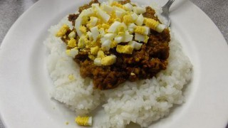 (Close) Tsukiji Market : Special dry curry at TOYOCHAN (豊ちゃん)