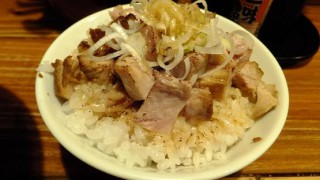 Ramen and pork fillet bowl (Motoyawata)