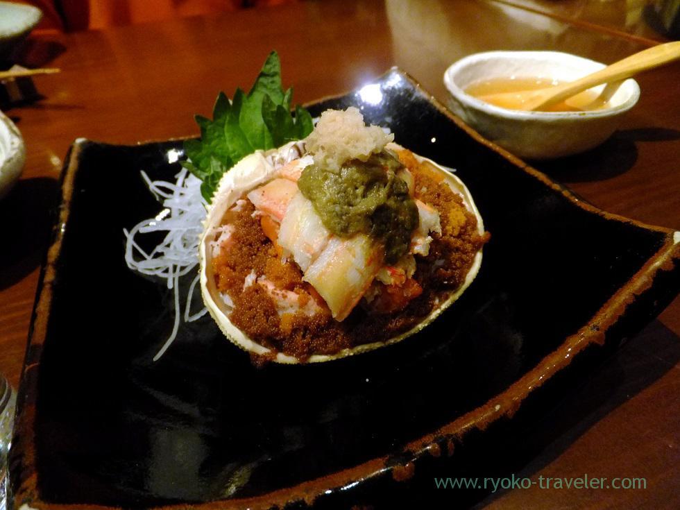Female crab from Kasumi, Yamadaya (Tsukiji)