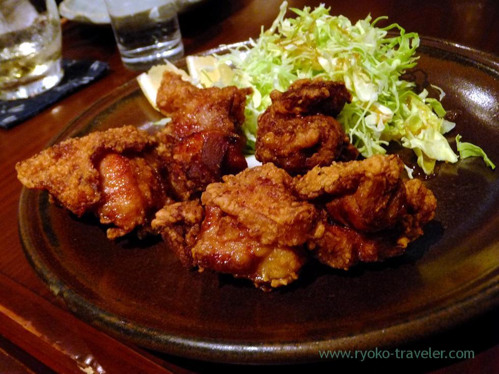 Iyo-suigun dori chicken Karaage, Yamadaya (TSukiji)