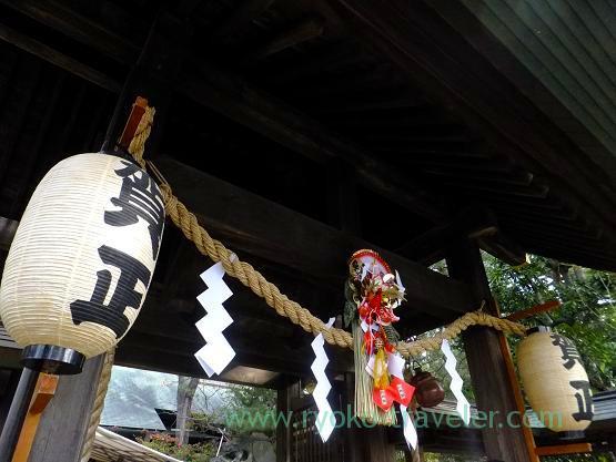 Main worship hall, Funabashi Daijingu Shrine (Daijingu-shita)