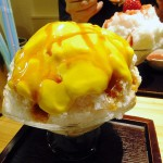 Nippori : Kakigori at Himitsudo during cold season (ひみつ堂)