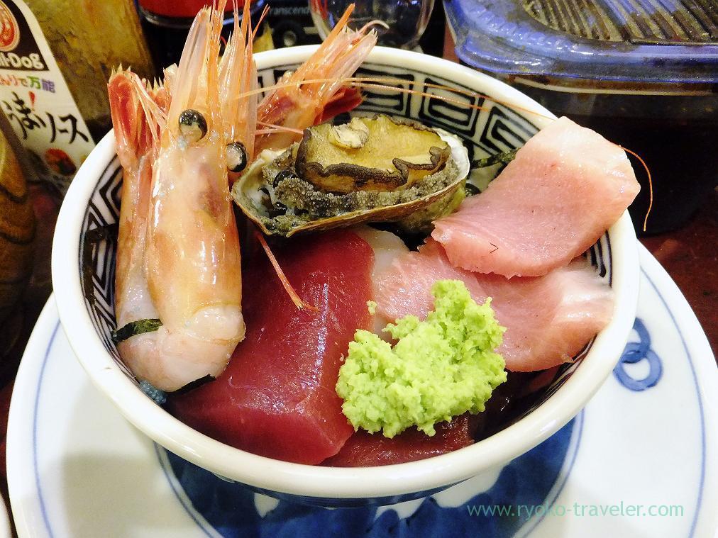 Sashimi bowl, Yonehana (Tsukiji Market)