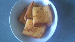French toasts at my breakfast