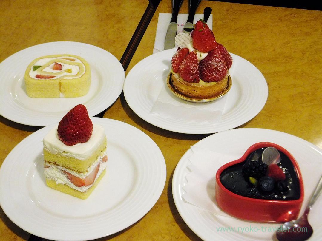 Cakes, Salon de Perignon (Monzen-nakacho)