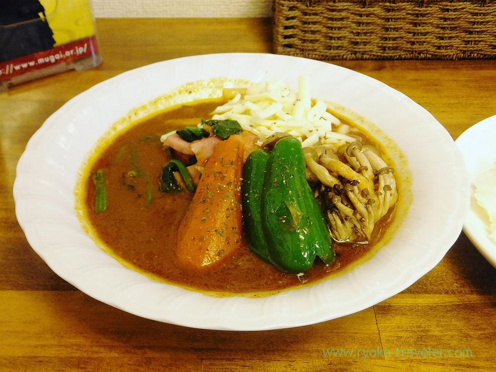 Dosanko bacon curry, Soup curry Kamui (Iwamotocho)