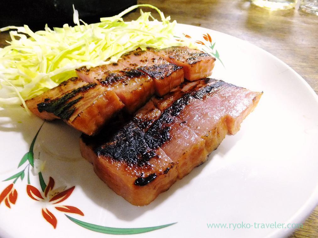 Ham steak, Toyotaya (Hirai)