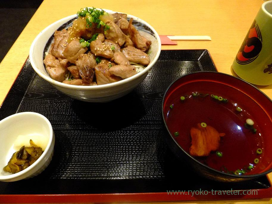 Koro steak bowl set, Soma Suisan (Urayasu)