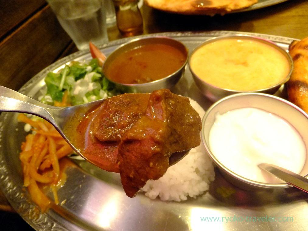 Lunch Matton curry, Sarnath (Funabashi)