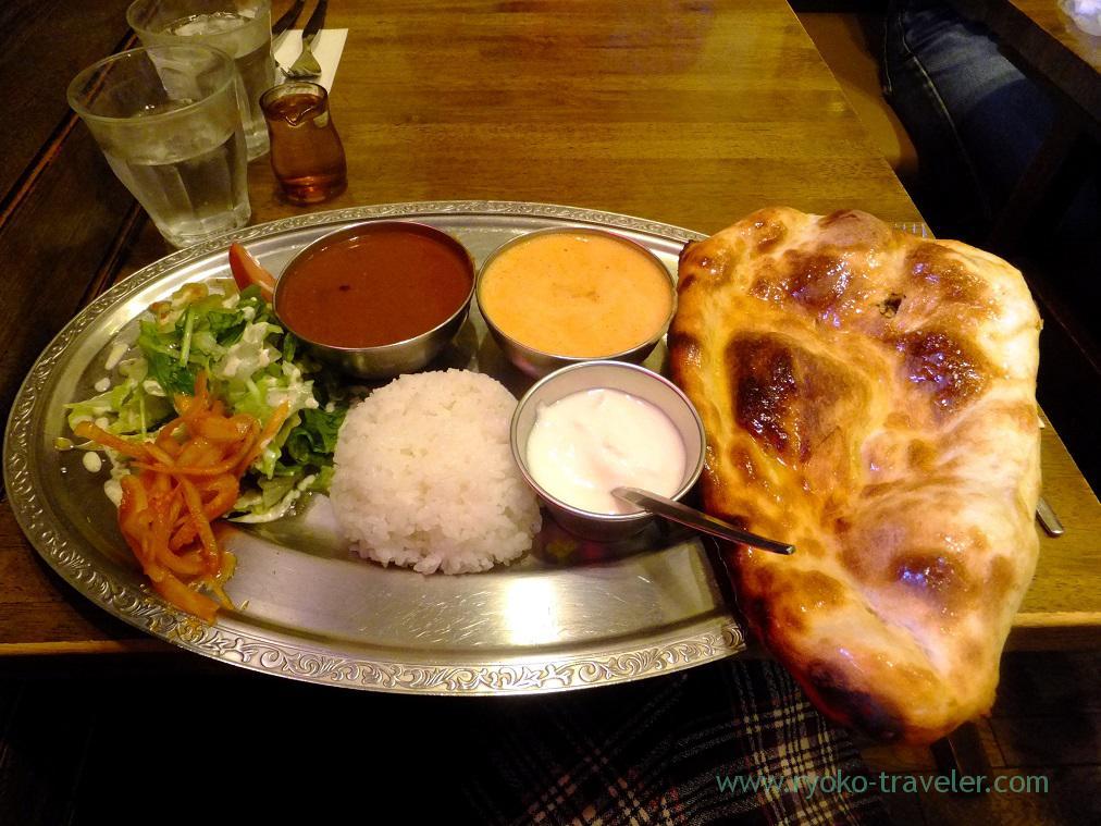 Lunch plate, Sarnath (Funabashi)